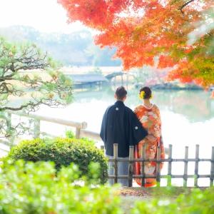 秋の前撮り